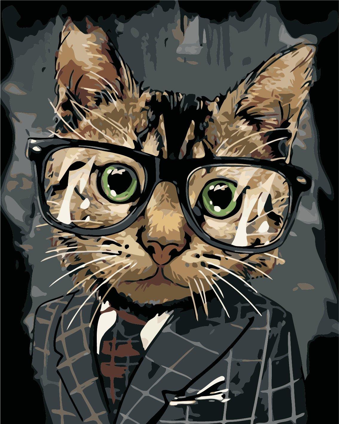 Картина по номерам Офисный кот - VseTak— интернет-магазин ...