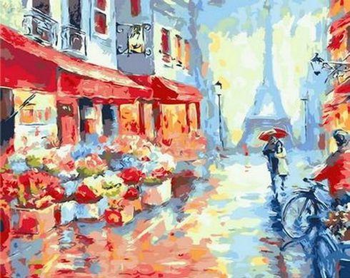 Картина раскраска по номерам Весенний дождь в Париже ...