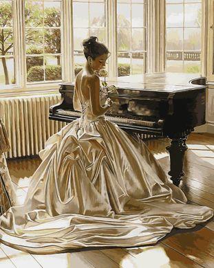 Раскраски по номерам Девушка у рояля - VseTak— интернет ...