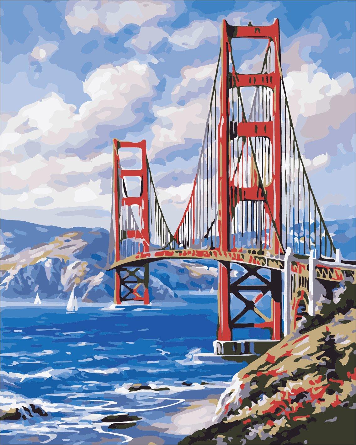 Картина по номерам Сан-Франциско - VseTak— интернет ...