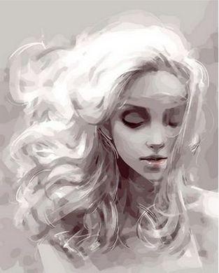 Картина раскраска по номерам Девушка из снов - VseTak ...